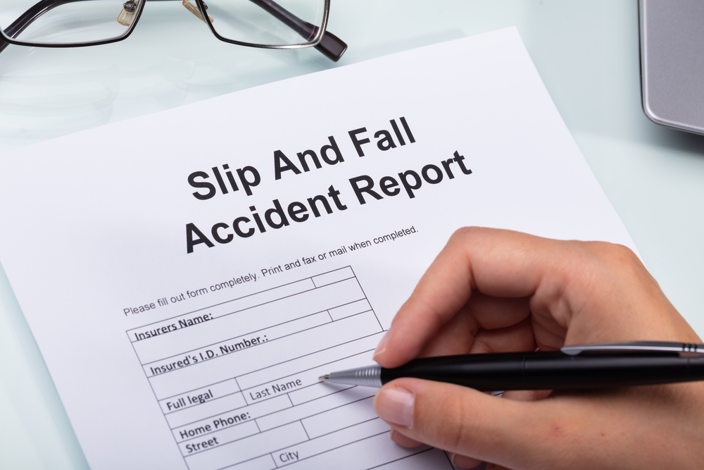 Police Report After Slip & Fall?